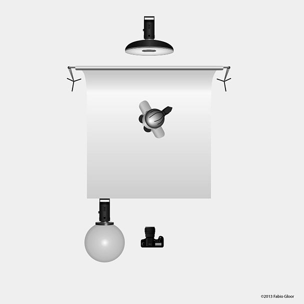 Применение лампы Broncolor Balloon