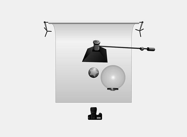 Портрет при помощи Broncolor Balloon и Stripbox