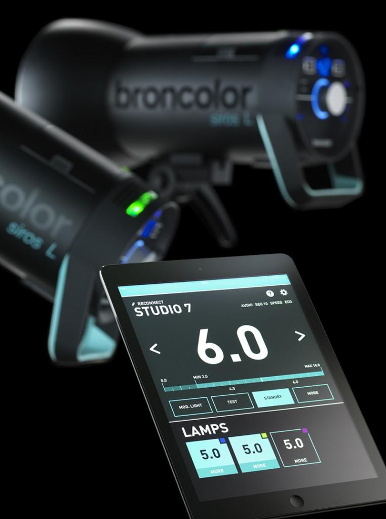 Батарейный импульсный моноблок Broncolor Siros L